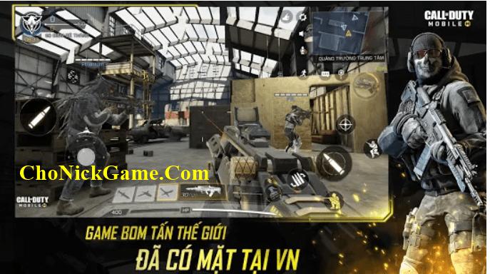Cho Nick Call Of Duty Mobile VNG full vàng