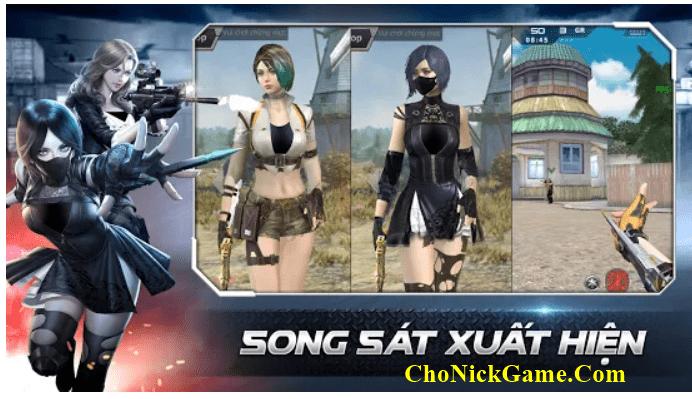 Cho nick CF việt nam