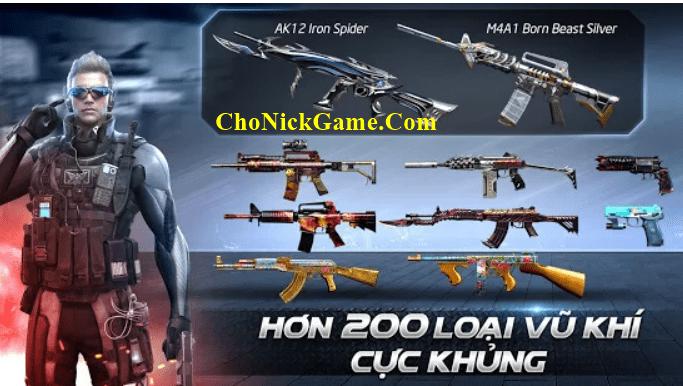 Cho nick CF mobile