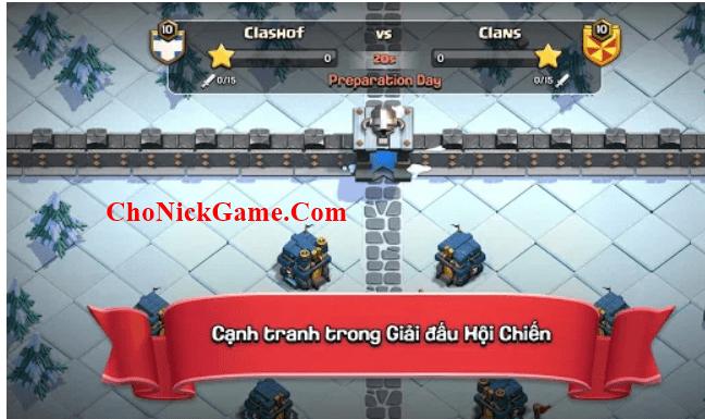 acc Clash of Clan miễn phí 2020