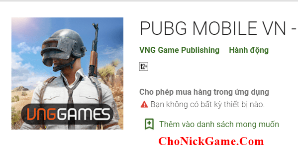 Cho acc PUBG Mobile vip 2020