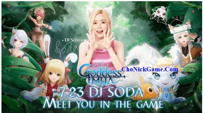 Cho nick Goddess MUA