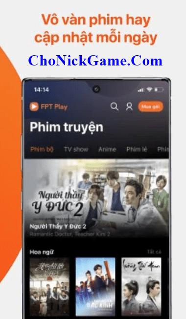 Xin tài khoản FPT Play 2020