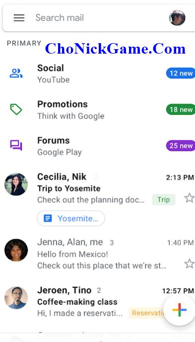 xin nick gmail rác 2020