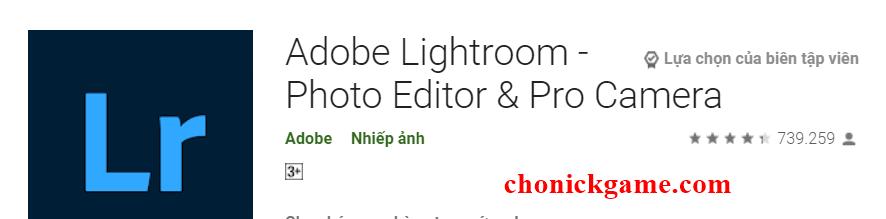 chia sẻ tài khoản Lightroom