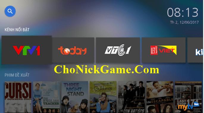 Xin tài khoản MyTV 2020