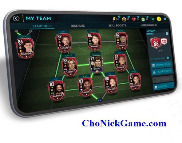 Cho acc FIFA Mobile 2020