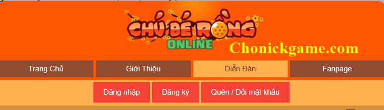 Cho nick ngọc rồng mk 0
