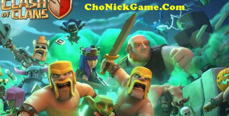Cho nick Clash of Clans hall 11