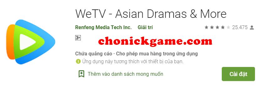 share tài khoản VIP WeTV free