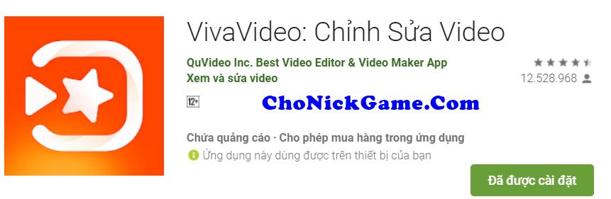 tài khoản VivaVideo Pro