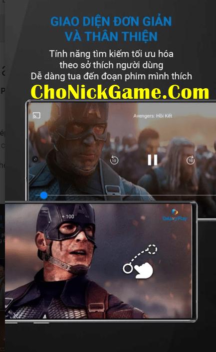Share tài khoản Galaxy Play 2021