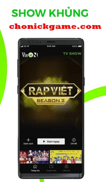 tài khoản VIP VieON miễn phí