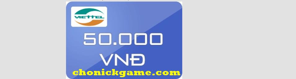 Thẻ viettel 200k Free
