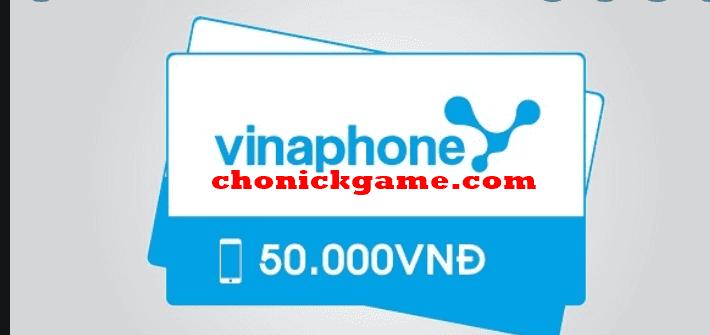 Nhận thẻ cào vinaphone miễn phí