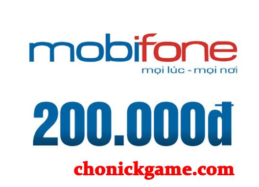 Card Mobifone miễn phí